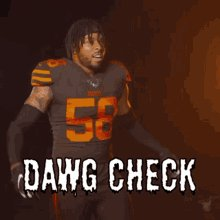 DAWG CHECK!!! LFG!!!!   #Browns #WeWantMore