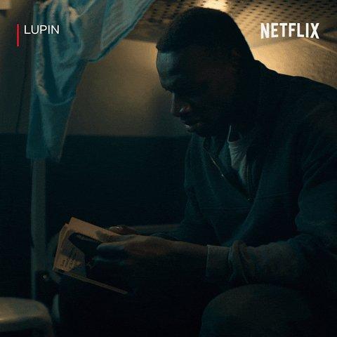 5. #Netflix Lupin dans l'ombre d'Arsène P1. Fini il y a quelques jours. Une série sympa, un bel hommage au perso d'Arsène Lupin et à son auteur. Un casting impeccable. Vivement la suite. Ça donne envie de se plonger dans les livres.