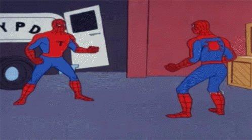 Spider Man Reaction GIF