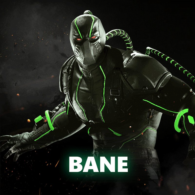 Injustice 2 has a lot of characters to choose from so tap to pause this gif for help deciding who you should play first