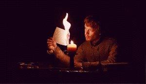 Burning Paper GIF