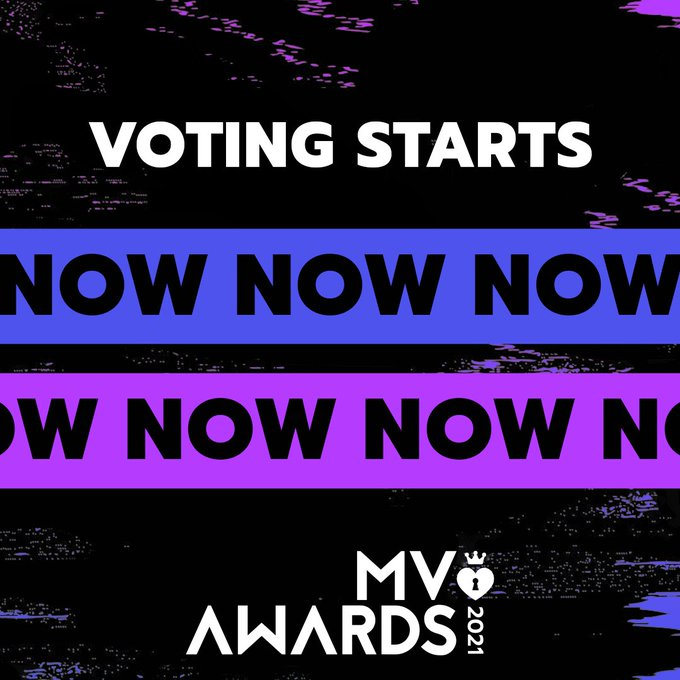 The 2021 MV Awards have begun & every vote counts! ✅  Voting starts NOW & is open until January 17th