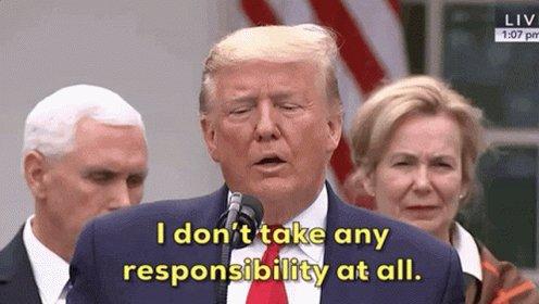Donald Trump Responsibility...