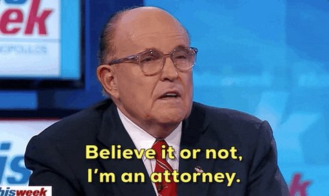 @Pink This is another. He used to be known as Rudy Giuliani.
