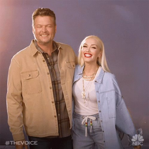@gwenstefani Who else thinks its cool she pointed to her engagement ring when she said she had a smile on her face. Keep smiling Gwen. I would have permagrin if the person I loved most asked me to marry them. Im smiling with you and @blakeshelton Enjoy and love each other. #HappyAnywhere