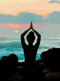 spiritual meditation GIF