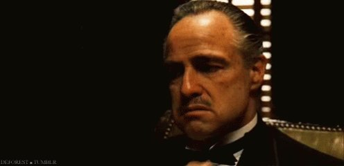 I'm currently watching 'The Godfather' for the FIRST time.