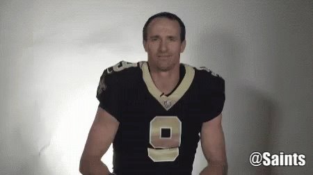 Thank You @drewbrees #WhoDat