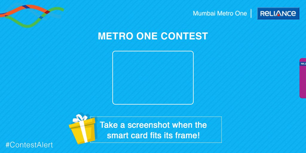 #CONTESTALERT Fastest fingers first! Take a screenshot and reply to this tweet to stand a chance to win exclusive gifts! Feel free to tag your friends and follow @MumMetro for more exciting contests. #Contest #Giveaway #GiveawayAlert #MumbaiMetroOne
