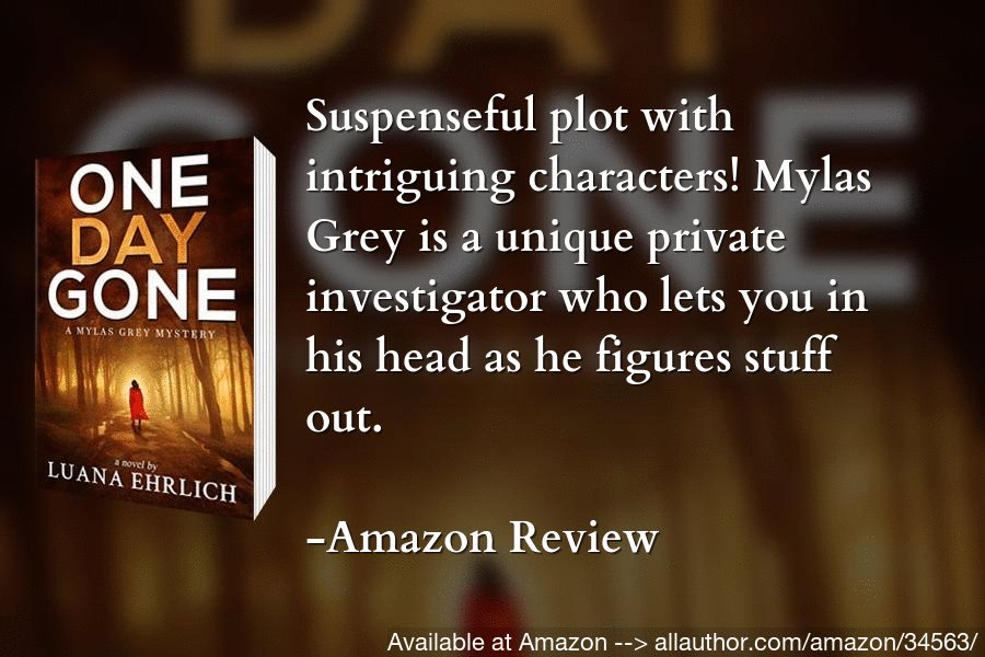 The senator's daughter is missing. Can Mylas find her before it's too late? #amreading #bookboost #mystery @luanasbooks