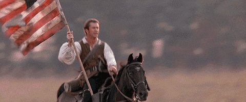Mel Gibson America GIF