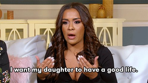 This is @xobrianadej's only goal. 🙏 #TeenMom2