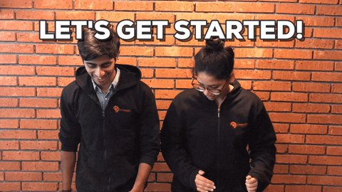 run begin GIF by Crowdfire