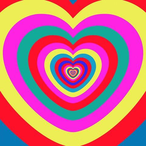 I Love You Hearts GIF by Fe...