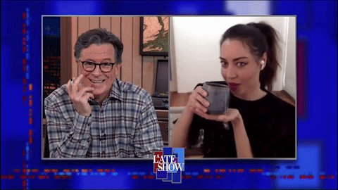 Replying to @colbertlateshow: .@evilhag makes a special appearance tonight to drop off some tea! #LSSC