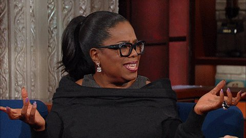 oprah winfrey what GIF by The Late Show With Stephen Colbert