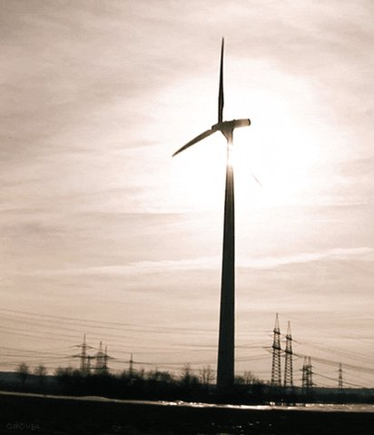 wind power spinning GIF