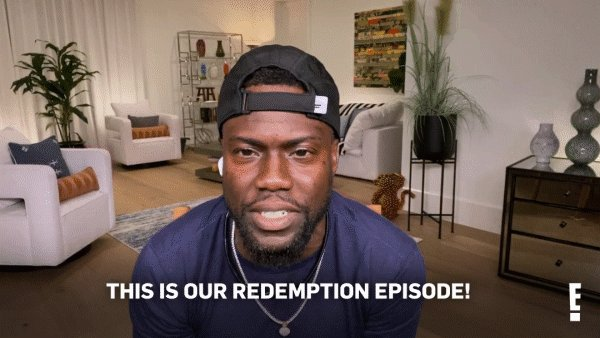 Get ready for a special redemption episode of #CelebrityGameFace with @kevinhart4real NOW on E! 💪