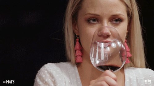 Sassy Red Wine GIF by Married At First Sight Australia