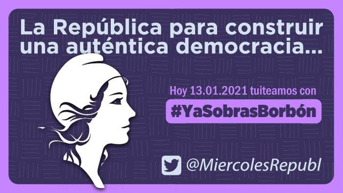 RT @Ailaxy: Seguimos tuieando con #YaSobrasBorbón, ¡participa!  ❤️💛💜 https://t.co/VbmVPIV5JY