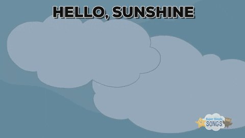 Good Morning Clouds GIF by Super Simple