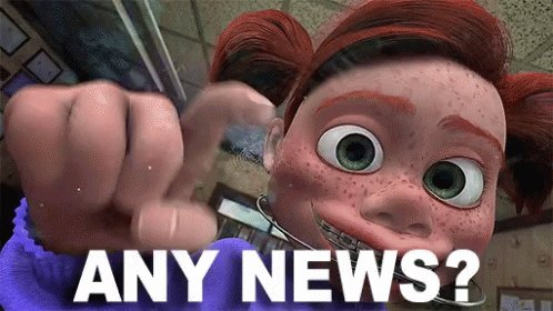 Any News Knocking GIF