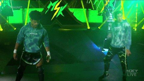 #WhoIsMSK?  MSK = Wes Lee & Nash Carter  #WWENXT #DustyClassic @DezmondXavier @zachary_wentz