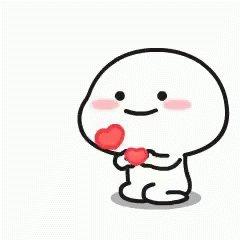 Cute Hearts GIF