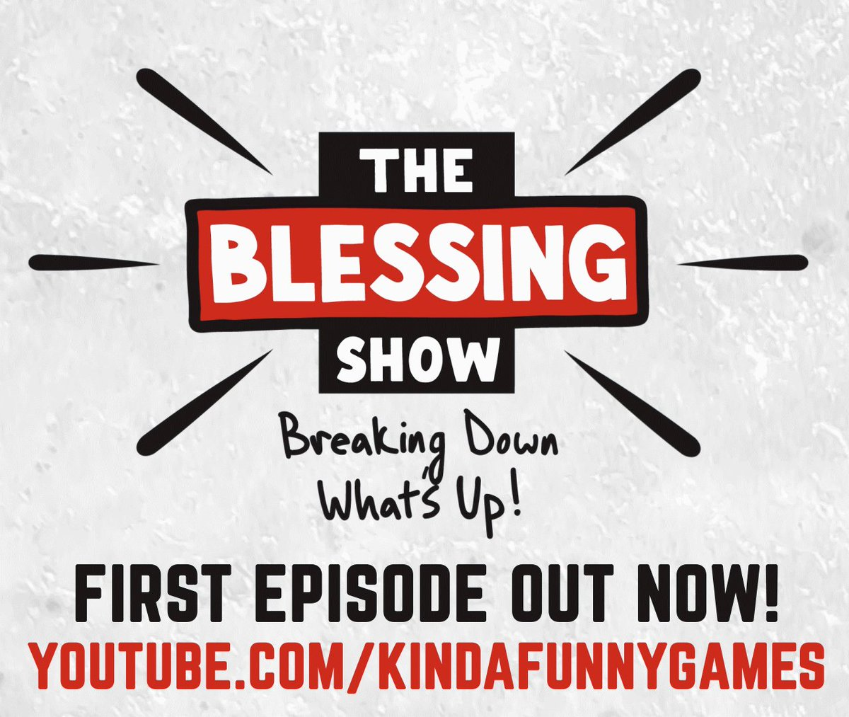 The first episode of The Blessing Show is now LIVE on YouTube!