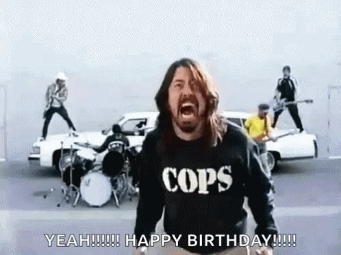 Happy Birthday to Dave Grohl