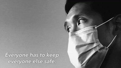 Mask Safety GIF by Love Has No Labels