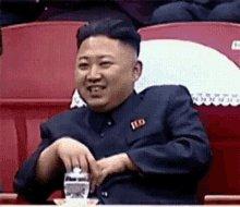 Kim Jongun Hi GIF
