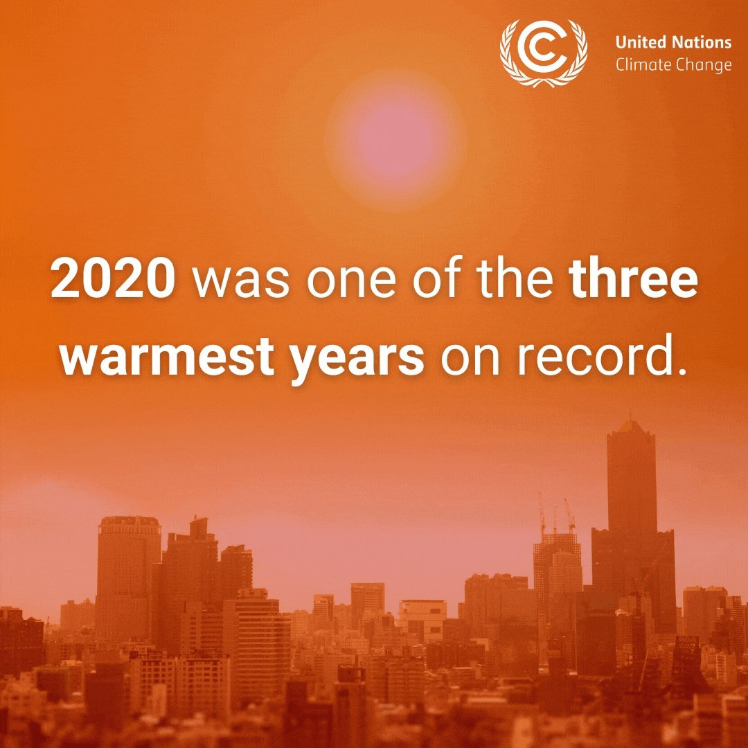 The latest statistics from the @WMO on record high temperatures point to a persistent long-term global heating trend.  The global community needs to buck this trend by actively pursuing the goals of the #ParisAgreement 👇