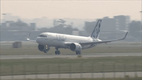flying take off GIF by Airbus