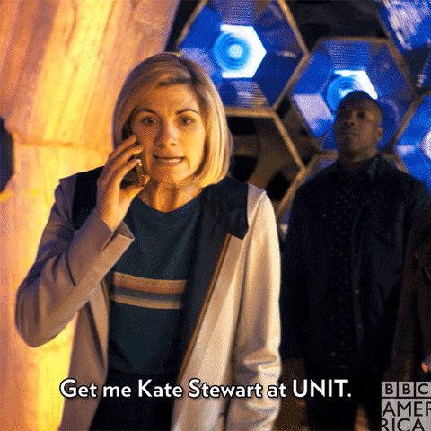 Always a good call. Happy Birthday to Jemma Redgrave a.k.a. Whoniverse regular, Kate Stewart!
