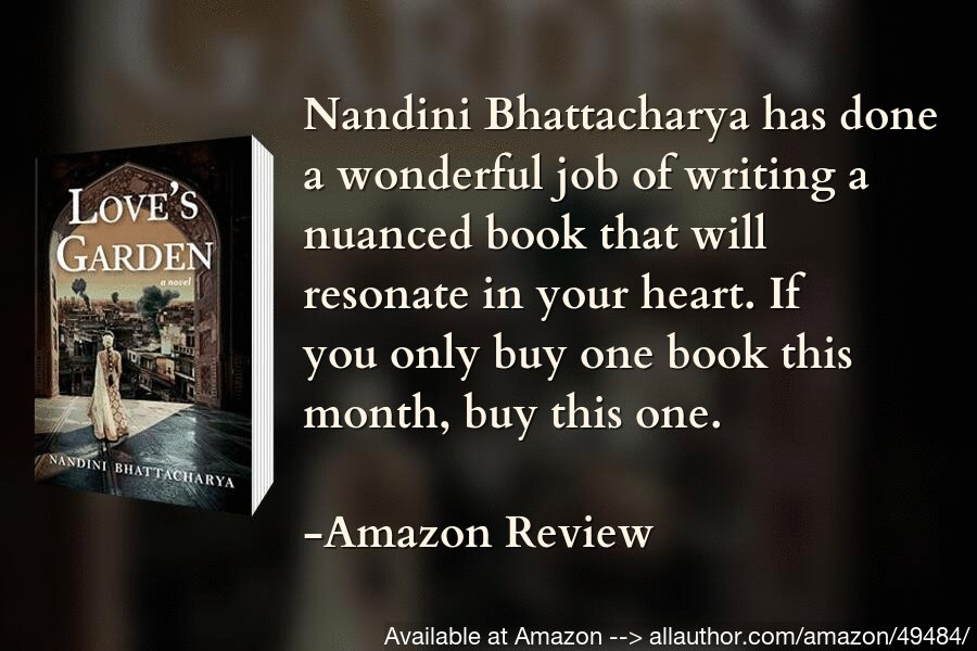 This book delved deep into the hearts of mothers and motherless children with war and unrest in India from 1898 to 1950 as it's backdrop. I enjoyed the book -- amazon reader review