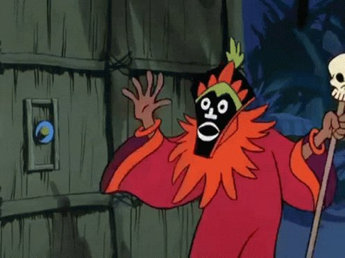 Scooby Doo Witch Doctor GIF