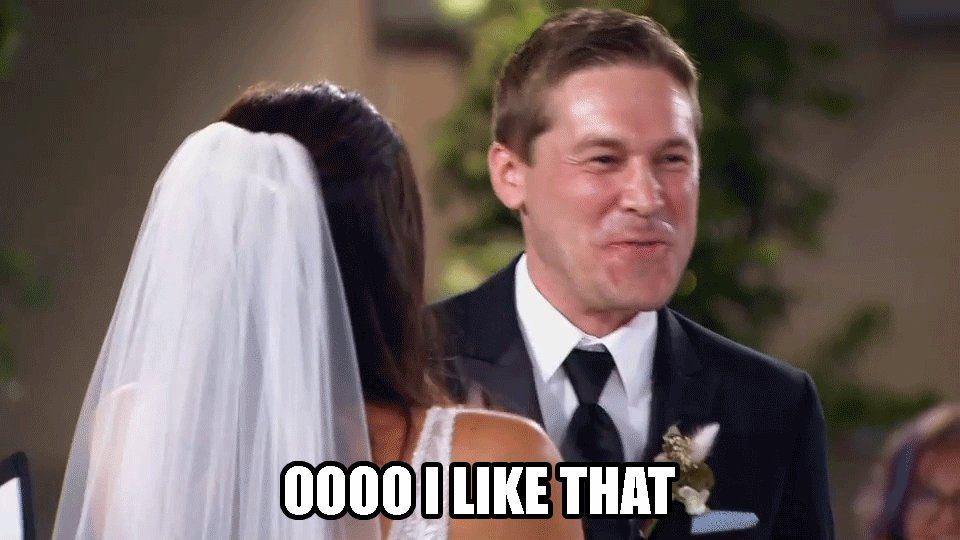 Beating the Sunday scaries with our excitement for Wednesday's #MarriedAtFirstSight