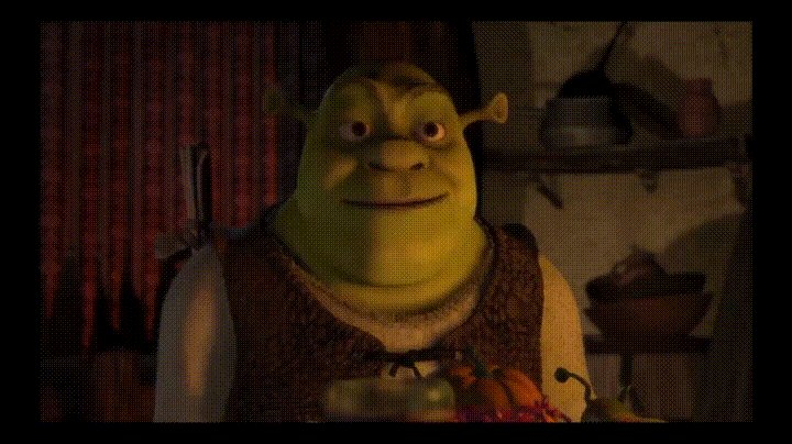 why does shrek's lonely dinner make me tear up ?????? send help. #R29MovieClub