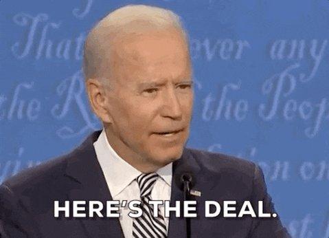 Joe Biden Reaction GIF by CBS News