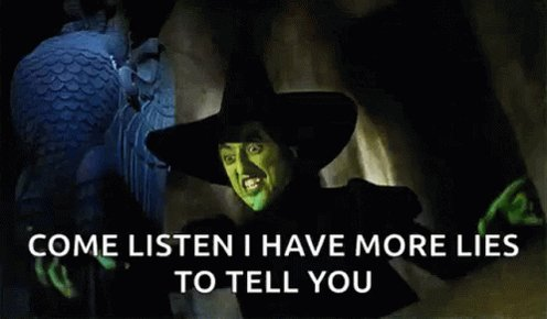 Yeah @SpeakerPelosi #WickedWitchOfDC