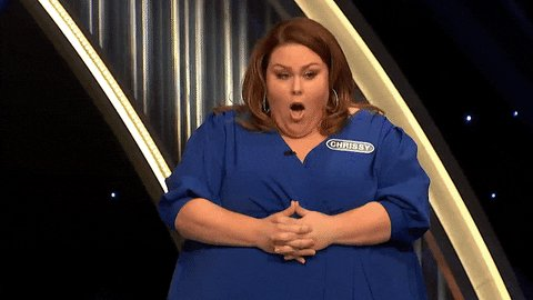 The nerves are REAL on tonight's episode of #CelebrityWheelOfFortune 😬 @ChrissyMetz