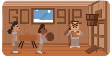 Professor, doctor, coach, & the inventor of basketball–Dr. James Naismith had a career that was nothing but net 🇨🇦 🏀 🇺🇸  Discover how he went from bouncing around an idea for a winter game to laying up a global pastime!  #GoogleDoodle →