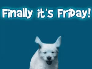 Image for the Tweet beginning: YAY IT'S FRIDAY!!! Today we