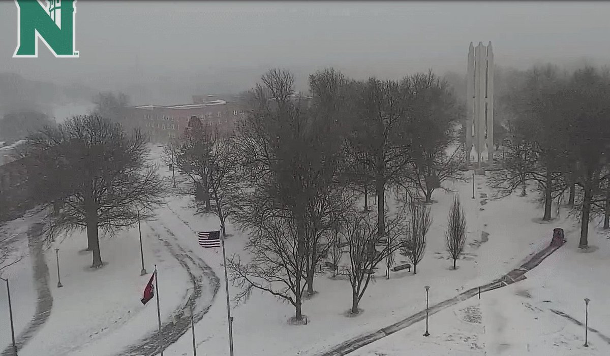 Replying to @fox4wx: The scene from northern MO and Maryville courtesy @NWMOSTATE JL #winterwonderland