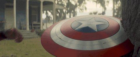Captain America Marvel GIF by Nerdist.com