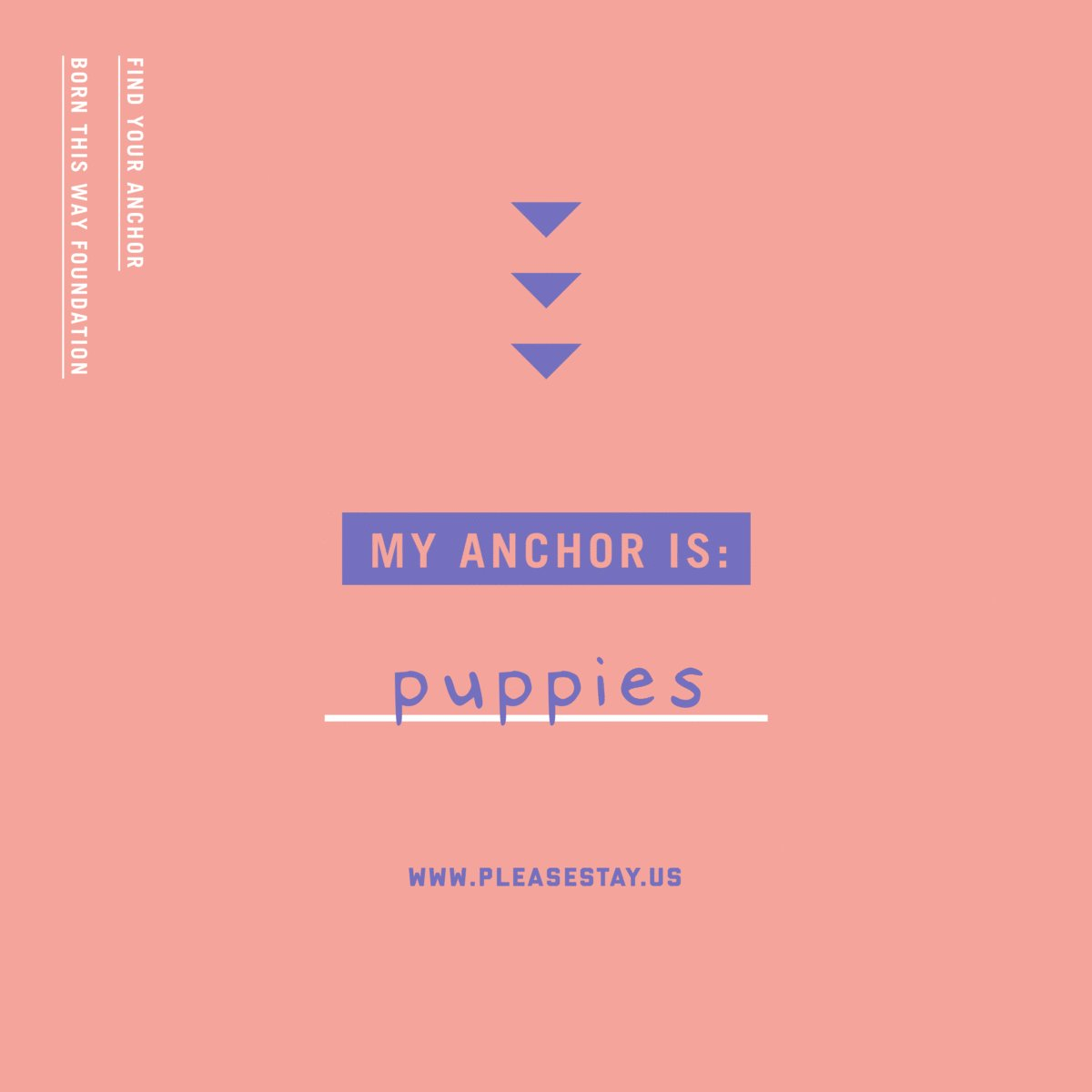 There are anchors ⚓️ you can hold onto that are all around. You just have to search for them 💖 Pledge to search for the anchors and find resources for support through the #PleaseStayPledge:  💞 @FYAbox