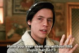 I don't like to tweet... but I can't take it anymore. I'm dying to ask... Hey Twitter? Has anyone told fans of #Riverdale it's #NationalHatDay? Am I the only one that thought of it? It's just sitting right there. They literally have a character who said: