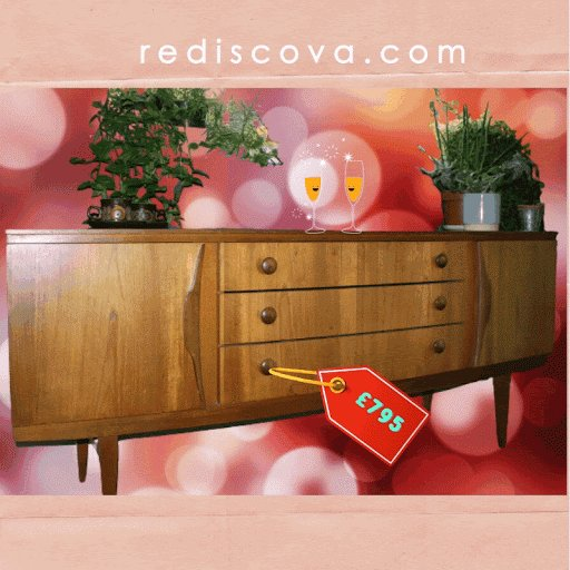 We love #midcentury #furniture,check out this #stylish #sideboard to give your #homedecor #thelook. Just follow the link