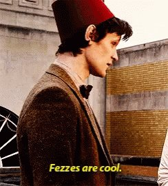 #NationalHatDay and I do love a man in a fez! 😊😂 #DoctorWho